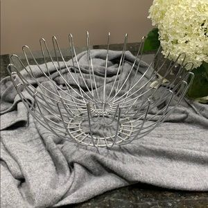 Other - Like new! Double layered modern wire fruit bowl